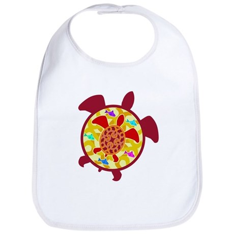 Turtle Within Turtle Bib
