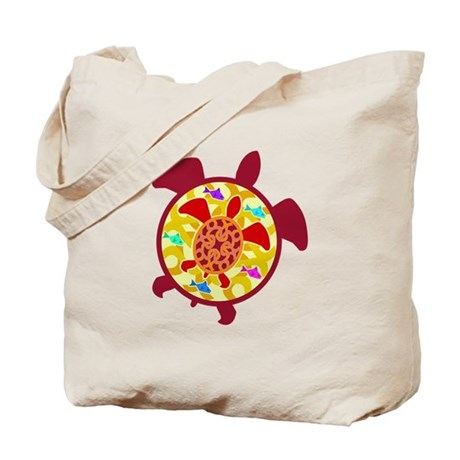 Turtle Within Turtle Tote Bag