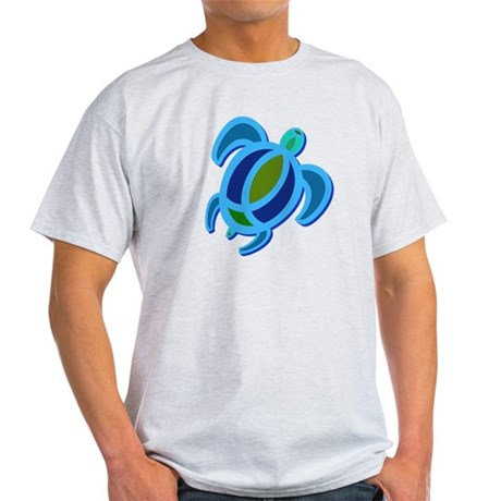 Blue Sea Turtle Light T-Shirt