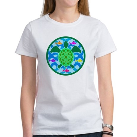Green Sea Turtle Women's T-Shirt