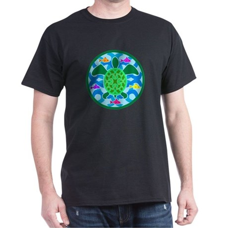 Green Sea Turtle Dark T-Shirt