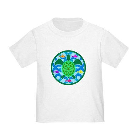 Green Sea Turtle Toddler T-Shirt