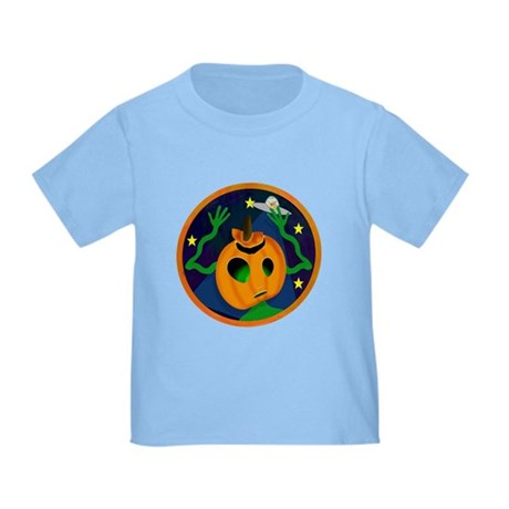 Alien Jack O Lantern Toddler T-Shirt