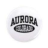"Aurora Colorado 3.5"" Button"