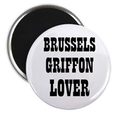 "BRUSSELS GRIFFON LOVER 2.25"" Magnet (10 pack)"