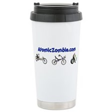 Atomic Zombie Ceramic Travel Mug