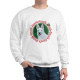 White German Shephard Sweatshirt