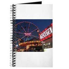 Wonder Wheel at Night Journal