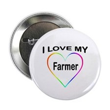 "I Heart My Farmer 2.25"" Button"