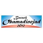 Obamadinejad Bumper Sticker (10 pk)