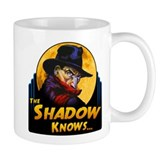 """The Shadow Knows..."" Small Mug"
