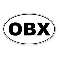 Outer Banks Oval Sticker (10 pk)
