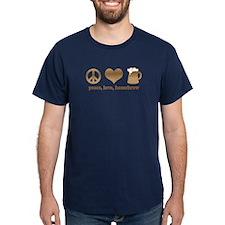 Peace, Love, Homebrew T-Shirt