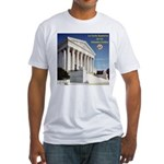 La Corte Suprema Fitted T-Shirt