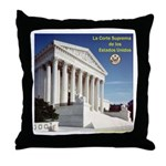 La Corte Suprema Throw Pillow
