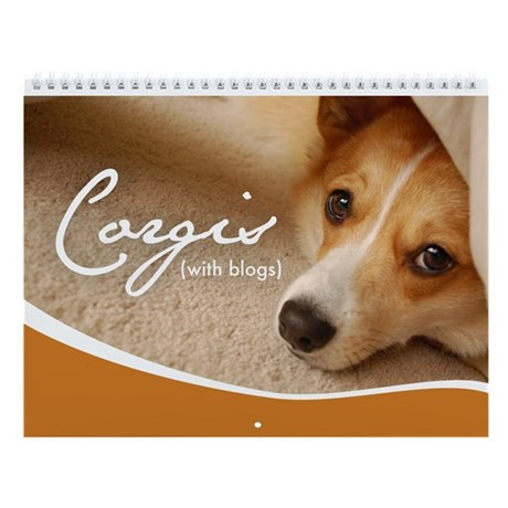 1st Annual Corgis (with blogs) Wall Calendar