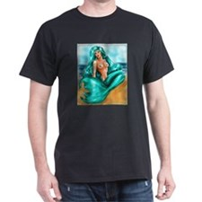 Aquamarine Black T-Shirt
