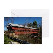 Swift River Bridge Greeting Cards (Pk of 10)