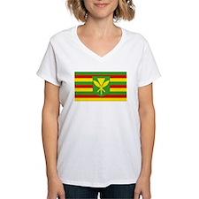 Kanaka Maoli Flag Shirt