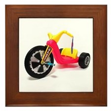Cute Wheels Framed Tile