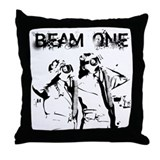 Atomic Beam Throw Pillow