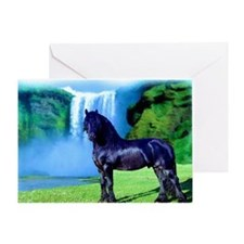 Hidden Horse Canyon Greeting Card