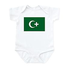 Egypt Revolution Flag (1919) Infant Bodysuit