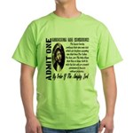 Ticket To Heaven Green T-Shirt