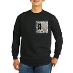 Ticket To Heaven Long Sleeve Dark T-Shirt