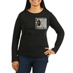 Ticket To Heaven Women's Long Sleeve Dark T-Shirt
