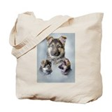German Shepherd Puppies! Tote Bag