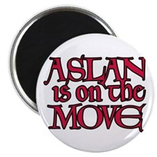Aslan Is On The Move Magnet