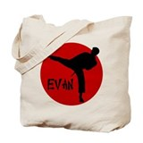 Evan Karate Tote Bag