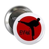 "Evan Karate 2.25"" Button"