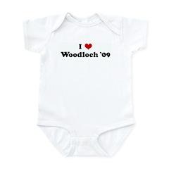 I Love Woodloch '09 Infant Bodysuit
