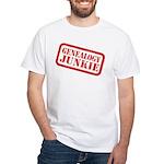 Junkie (DS) White T-Shirt