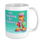 Garfield Learning by Osmosis Coffee Mug