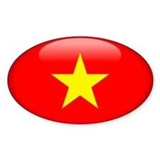 Viet Nam Oval Decal