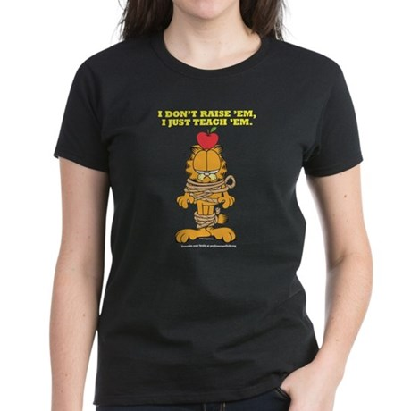 Teach 'em Garfield Women's Dark T-Shirt