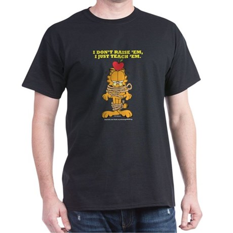 Teach 'em Garfield Dark T-Shirt