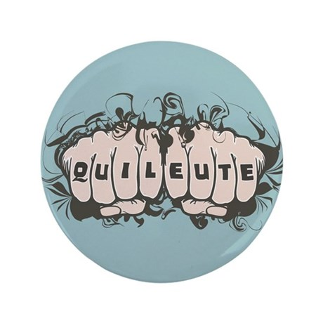 "Quileute Tattoo 3.5"" Button (100 pack)"