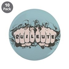 "Quileute Tattoo 3.5"" Button (10 pack)"