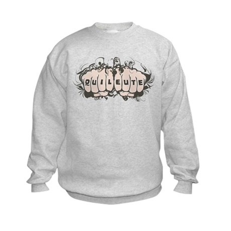 Quileute Tattoo Kids Sweatshirt