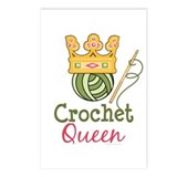 Crochet Queen Postcards (Package of 8)