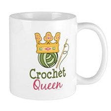 Crochet Queen Small Mug