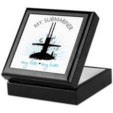 My Submariner My Love Keepsake Box