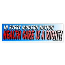 Modern Nation Bumper Bumper Sticker