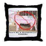 RePIGlican4 Throw Pillow