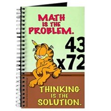 Math Problem Garfield Journal