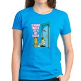 Reading Makes Life Easier Tee